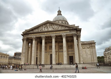 PARIS, FRANCE- JUNE 7, 2011:   Pantheon in Latin Quarter in Paris, France.