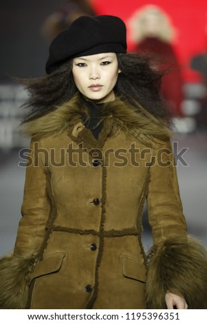 8fe30489a96 PARIS, FRANCE - MARCH 03: A model walks the runway during the Sonia Rykiel  show as part of the Paris Fashion Week Womenswear Fall/Winter 2018/2019 on  March ...