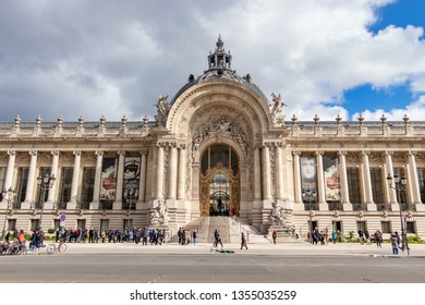 Paris, France - March 10, 2019: The very famous Petit Palais Museum in Paris