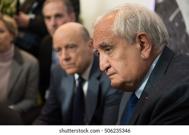 PARIS, FRANCE - MARCH 3, 2016 - The French politician Jean-Pierre Raffarin at the Paris International Agricultural Show 2016.