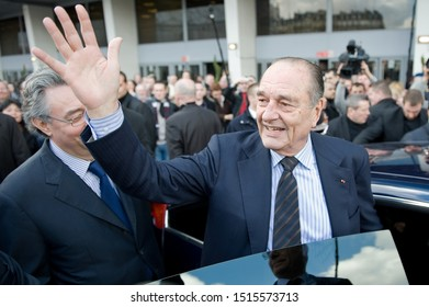 Paris, FRANCE - March 5, 2010 -  Former french President Jacques Chirac at the International Agricultural Show 2010.