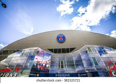 Paris, France - May 09, 2014 - Parc des Princes, Football stadium of Paris Saint-Germain FC