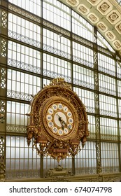 Paris, France - May 16, 2017: The Musee d'Orsay, a museum in Paris, France. It is housed in the formerGare d'Orsay, aBeaux-Artsrailway station built between 1898 and 1900.