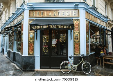 PARIS, FRANCE - MAY, 2016: Popular Paris bakery - Du Pain et des Idee