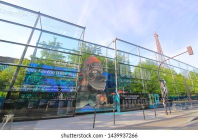 PARIS FRANCE - MAY 23, 2019: Museum of Quai Branly Paris France