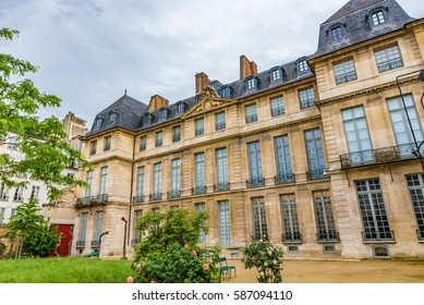 PARIS, FRANCE - MAY 28, 2016: The Musee Picasso in Paris, France. The Musee Picasso is an art gallery dedicated to the work of the Spanish artist Pablo Picasso.