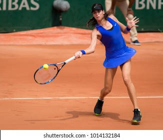 PARIS, FRANCE - MAY 29 : Ajla Tomljanovic at the 2017 Roland Garros Grand Slam tennis tournament