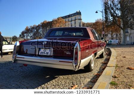 Paris France November 18th 2018 Back Stock Photo Edit Now