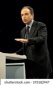 PARIS, FRANCE - NOVEMBER 26, 2011 : Jean Francois Cope during the Seminar of the managers of the UMP