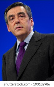 PARIS, FRANCE - NOVEMBER 26, 2011 : Francois Fillon during the Seminar of the managers of the UMP