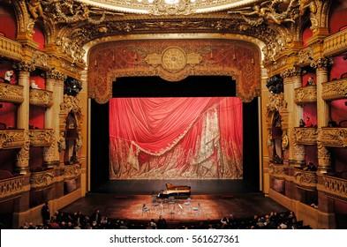 Paris, FRANCE - NOVEMBER 30, 2014: Palais Garnier, Opera National de Paris