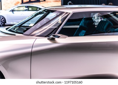 Wedding Car Just Married Stock Photo Edit Now 1073897600