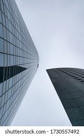 Paris, France. October 2019. View of corporate buildings