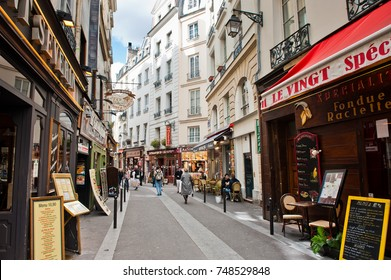 PARIS, FRANCE - SEPTEMBER 15, 2017: Street of Paris