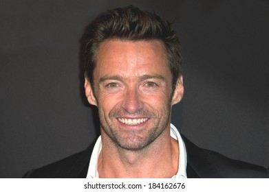 """PARIS, FRANCE - SEPTEMBER 6, 2011 - Hugh Jackman at French premiere of """"Real Steel"""" at Le Grand Rex Theater"""