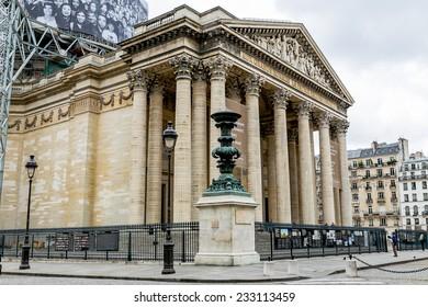 Paris, France-July 13, Pantheon, July 13.2014 in Paris