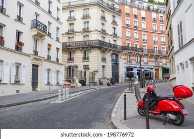 Paris, France-July 15, Montmartre, July 15.2013 in London
