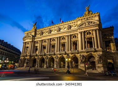 Paris, France-July 22, the opera Garnier in Paris, July 22.2015 in Paris