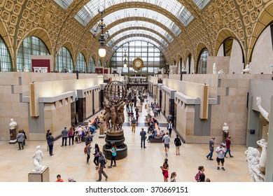 Paris, France-July 22, the Orsay Museum in Paris, France, July 22.2015 in Paris