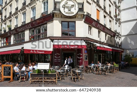 Paris France May 16 2017 Famous French Stock Photo Edit Now