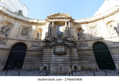 Paris, France-May 31, 2020 : The Maillol is an art museum located in the 7th arrondissement at rue de Grenelle, Paris, France.