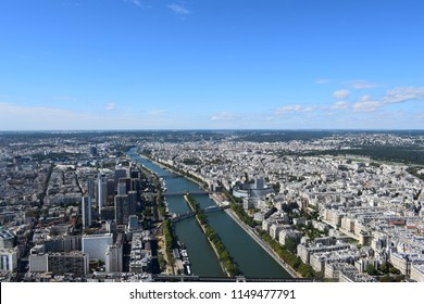 Paris from a height (Eiffeltower view)