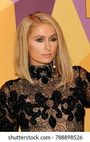 Paris Hilton at the HBO's 2018 Official Golden Globe Awards After Party held at the Circa 55 Restaurant in Beverly Hills, USA on January 7, 2018.