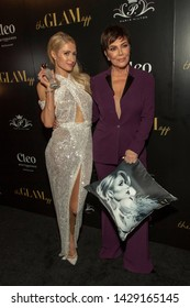 Paris Hilton, Kris Jenner attend The Glam App and Paris Hilton Launch Party at Cleo-Hollywood, Hollywood, CA on June 19, 2019