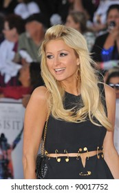 "Paris Hilton at the premiere of Michael Jackson's ""This Is It"" at the Nokia Theatre, L.A. Live in downtown Los Angeles. October 27, 2009  Los Angeles, CA Picture: Paul Smith / Featureflash"