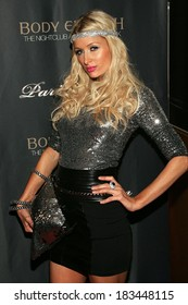 Paris Hilton at Paris Hilton Sunglass Collection Launch Party at Body English, Hard Rock Hotel and Casino, Las Vegas, NV October 3, 2009 Photo By James Atoa/Everett Collection