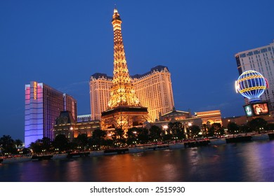 Paris Hotel and Casino, in Las Vegas, Nevada