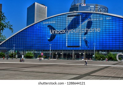 Paris La Defense; France - may 25 2017 : the Center of New Industries and Technologies in La Defense district