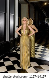 PARIS - MAR 30, 2018: Marylin Monroe,  the Wax Museum Grevin in Paris, France