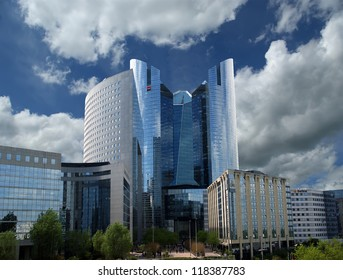 PARIS - MAY 10: Paris, France on May 10, 2012. La Defense, commercial and business center of Paris, France