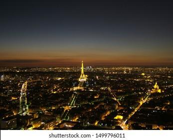 Paris at night, beautiful lights