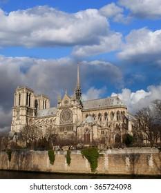 Paris. Notre Dame Cathedral