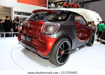 Paris October 14 Smart Forstars Concept Stock Photo Edit Now