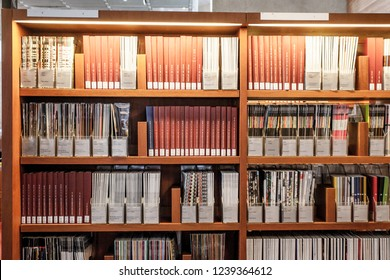 PARIS - October 5, 2016: Interior of the National library of France, located on the Rue de Richelieu
