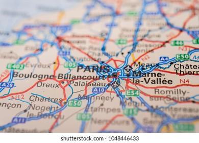 Paris Map Images, Stock Photos & Vectors | Shutterstock