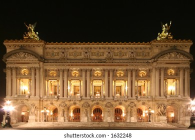 Paris Opera at night