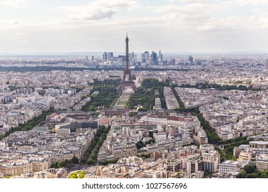 Paris panorama from above
