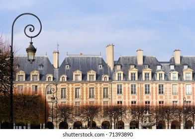 Paris The Place des Vosges