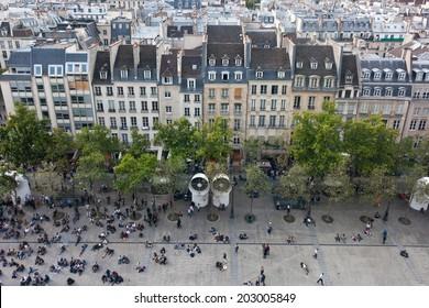 Paris, Pompidou