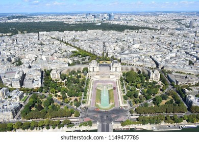 Paris as seen from the Eifeltower