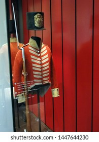PARIS - SEP 12, 2011 - Uniforms of the French army,  from the 18th and 19th century, Museum of the Army, Les Invalides, Paris, France