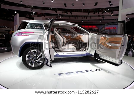 Paris September 30 Nissan Te Rra Suv Stock Photo Edit Now
