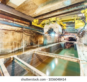 Paris Sewers system tunnels in France