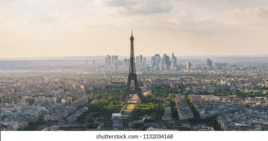 Paris skyline view from the Montparnass tower