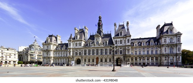 Paris town hall in Chatelet