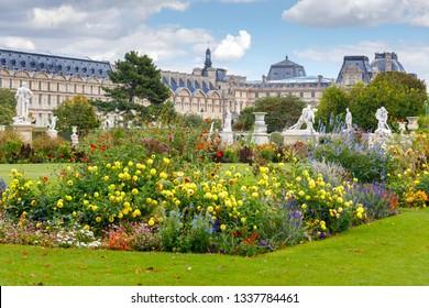 Paris. Tuileries Garden.